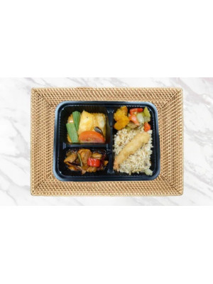 BENTO FOR $5 (VALUE MEAL) - MIN 15 PAXS (3 COMPARTMENT BENTO)
