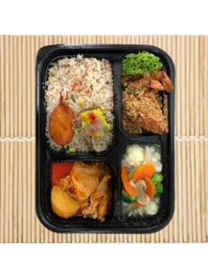 BENTO FOR $7 (CLASSIC MEAL) - MIN 15 PAXS (5 COMPARTMENT BENTO)