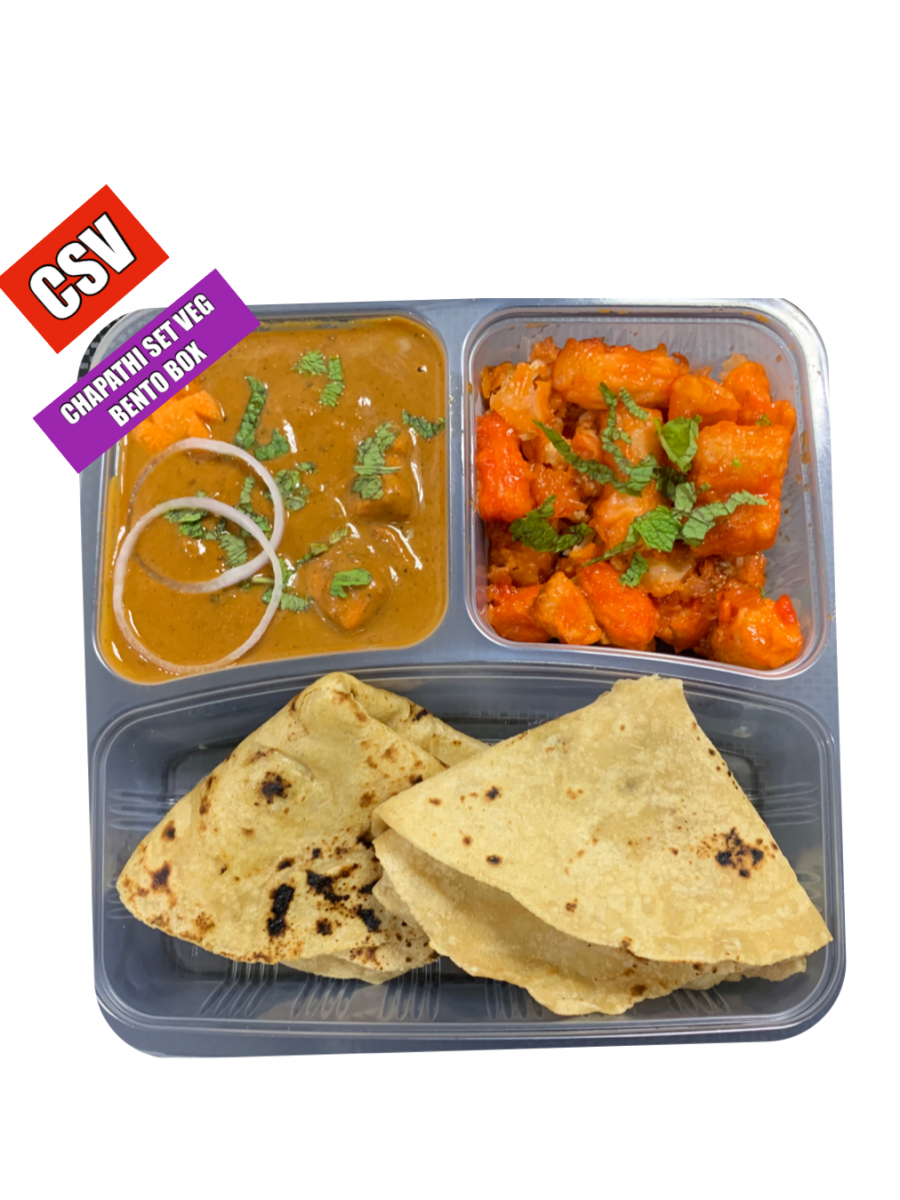 CHAPATHI VEG SET MEAL(NO CARB DIET MEAL - ORDER CODE (CSV)