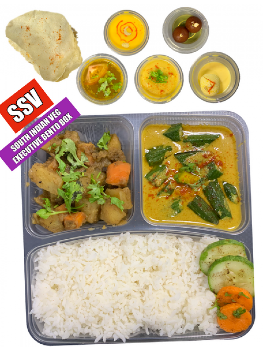 SOUTH INDIAN STANDARD VEG - ORDER CODE (SSV)**(ONLY SERVED AT LUNCH TIME - MON TO FRI)**